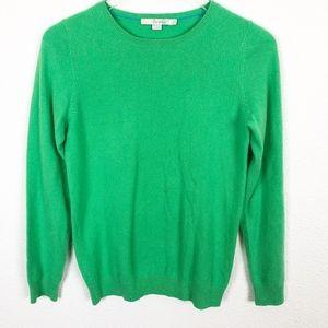 Boden Green 100% Cashmere Sweater